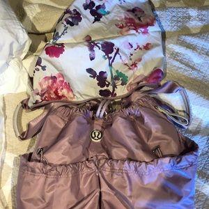 Lululemon Bliss Bag - Rose Quartz/Blurred Blossom